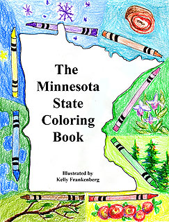 Front Cover: The Minnesota State Coloring Book